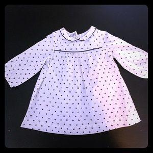 NWT - Bonpoint polka-dot dress - 12 months